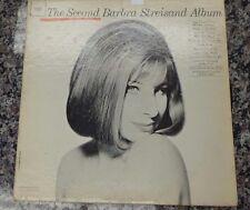 "The Second Barbra Streisand Album 12"" vinyl 33 RPM Mono CL2054  103390  008"