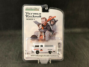 Greenlight Norman Rockwell 1972 Volkswagen Double Cab Pick-Up 1:64 SC 54020-E