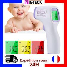 Thermomètre frontal infrarouge sans contact température bébé enfants adultes🔥🔥