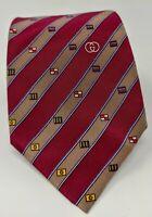Cravatta gucci GG 100% pura seta tie silk original made in italy handmade