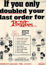 1966 ADVERT Uneeda Doll Dolls Dream Time Bride Nurse Bikini Murray Tractor