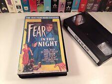 Fear In The Night Classic Film Noir Thriller VHS '47 Paul Kelly Deforest Kelley