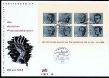 Ersttagsbrief-Briefmarken mit Geschichts-Motiven als Satz