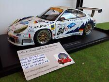 PORSCHE 911 996 GT3R Le Mans 2003 T2M # 84 Ickx 1/18 AUTOart 80379A voiture mini