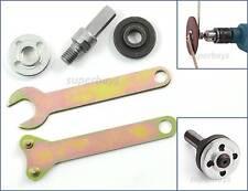 M10 16mm Disc Connector Angle Die Grinder Wrench Nut Mandrel Spanner Set Tool