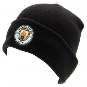 Manchester City FC  Knitted Navy Hat