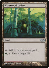 Wirewood Lodge Elves vs. Goblins HEAVILY PLD Land Uncommon MAGIC CARD ABUGames