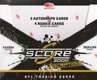 2009 Score Inscriptions Football Complete Your Set Pick 25 Cards From List