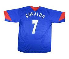 Manchester United 2005-06 Authentic Away Shirt Ronaldo #7  L Soccer Jersey
