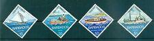 BATEAUX, PECHE - FISHING BOATS BARBADOS 1974 set
