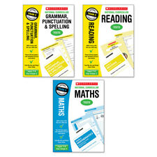 Scholastic Year 3 SATs Revision Reading, Grammar & Maths Book Pack (RRP£23.97)