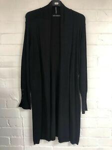 Ex Betty Barclay Ladies Black Cardigan Size 10 (G2.36)