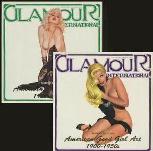 GLAMOUR INTERNATIONAL MAGAZINE American Good Girl Art 1900-1950/1950-1990. 17&19