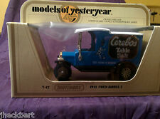 Matchbox Modeals of Yesterday 1912 Ford Model T