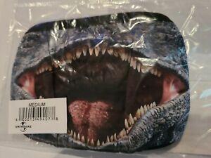Universal Studios Jurassic Park / World Velociraptor Mouth Face Mask Medium