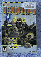 PC New Mechwarrior 4 Game of the Year BattleMech Combat Simulation 2001