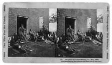 Photo of Stereograph,Hospital,Fredericksburg,Virginia,Soldier,American Civil War