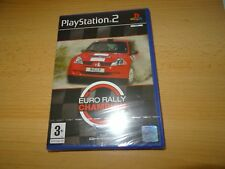Euro Rally Champion Sony PlayStation 2,NEW SEALED PAL ps2