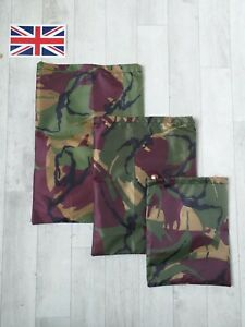 .UK. GEOCACHE DRAWSTRING BAG, RIPSTOP, JUNGLE CAMOUFLAGE BAG,  WATERPROOF FABRIC
