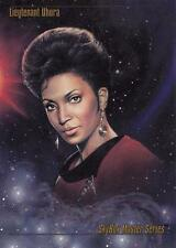 1993 Skybox Star Trek Master Series Lieutenant Uhura promo card
