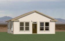 28x32 House -- PDF Floor Plan -- 848 sq ft -- Model 3H