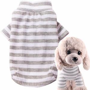 Pet Dog Clothes Shirt Pet Puppy Clothes Cotton T-shirt Cat Puppy Costume Apparel
