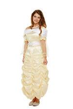 Donna ADULTA BELLEZZA Principessa Costume Fata delle fiabe Libro Settimana Giorno