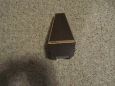 Seth Thomas Metronome Wind-Up 1104A Conductor Metronome Plastic Case Vintage