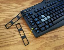 G-Key Shield for Logitech G105 Gaming Keyboard, Black ABS - Save The World!