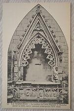 """CPA """" LA CHAISE DIEU - Tombeau de l'abbé Réginald de Monclar décédé en 1346"""