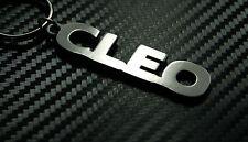CLEO Personalised Name Keyring Keychain Key Fob Bespoke Stainless Steel Gift