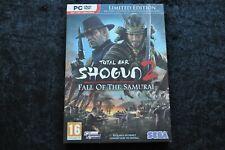 Total War Shogun 2 Fall Of The Samurai Limited Edition PC
