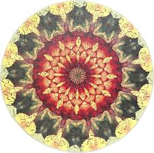 New Hand Cut Wooden Mandala 217-piece Jigsaw Puzzle in plywood box