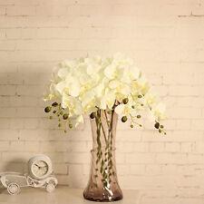 Bundles of 7 Silk Phalaenopsis Bunches!  Bulk Wholesale Artificial Flowers Craft