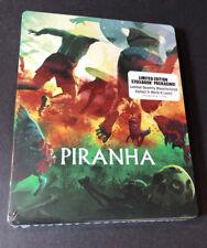 Piranha [ Limited STEELBOOK Edition / 2019 Print ]  (Blu-ray) NEW