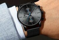 2021 MVMT Style CHEETAH Luxury Fashion Quartz Stainless Steel Chronograph Watch