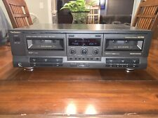 Technics Model RS-TR333 Dual Cassette Deck 7.B6- Made In Japan