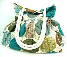 Cotone Kantha Stitch Totes Donna Sling Borsa A Tracolla Shopping Handbag