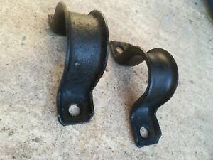 Ford Capri Mk2 Mk3 steering rack clamps original Ford