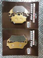 YAMAHA YZF-R125 FRONT & REAR BRAKE DISC PADS SEMI METALLIC 2008 TO 2014 FA377