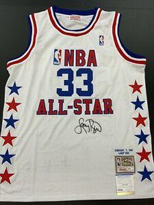 LARRY BIRD BOSTON CELTICS LEGEND HOF SIGNED 1988 ALL STAR JERSEY PSA WITNESS