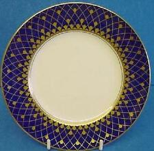 ROYAL WORCESTER MONTE CARLO COBALT BLUE & GOLD TEA PLATE TEAPLATE ENGLISH MADE