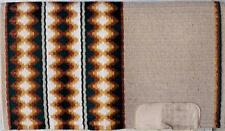 Golden West Lori Heckaman Forest Green Rust and Gold Saddle Blanket Pad 33 X 38