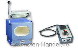 Brennofen Efco 180 mit Temperatursteuerung, 1100 °C, härten glühen schmelzen,TOP