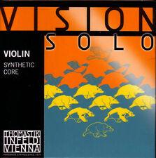 NEW Thomastik Violin Vision Solo Strings 4/4 Set VIS101