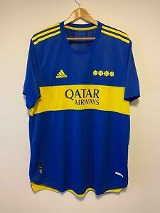 Boca Juniors Home Jersey / Shirt 21-22 - HEAT.RDY Adidas Official (Ask Size)