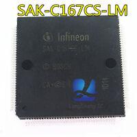5pcs SAK-C167CS-LM Package:QFP-144 new