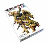 Tamiya Military Model 1/35 WWII German Africa Corps Infantry Set Hobby 35314