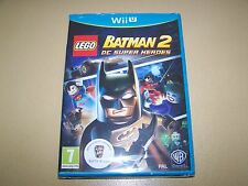 LEGO Batman 2 DC Superheroes Nintendo Wii U **New & Sealed**