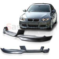 2007-2010 BMW E92 3 Series 2DR 328 335 M Style DTM Front Bumper Lip - PU